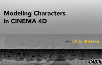 C4D建模教程 基础人体建模教学 Modeling.Characters.in.CINEMA.4D